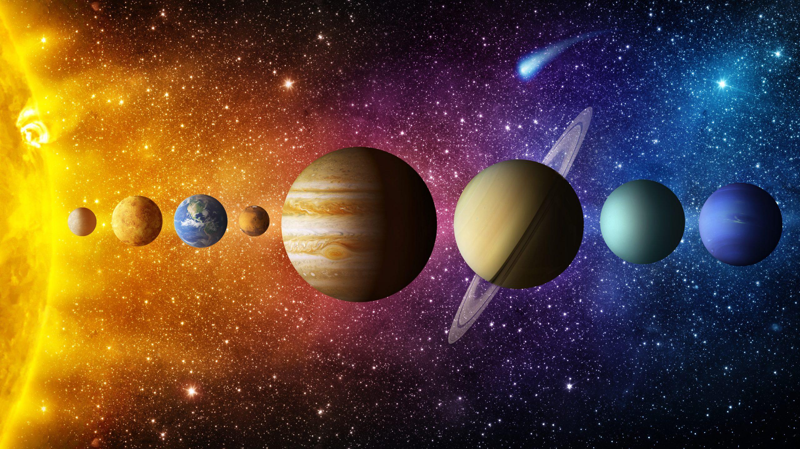 Astronomie en kosmologie in klas 7 en 10
